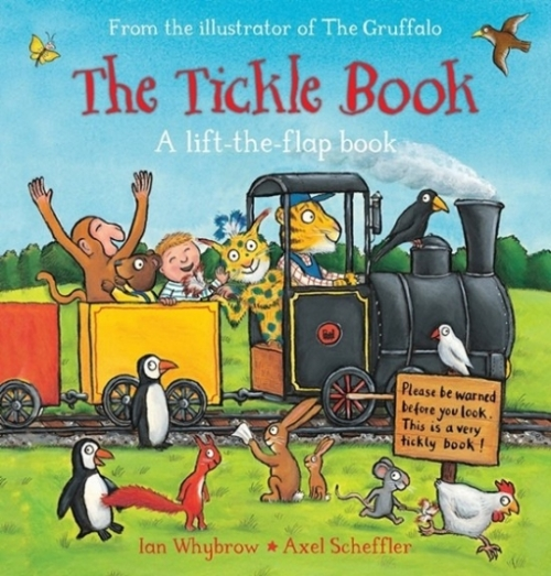 Whybrow I. The Tickle Book: A Lift-the-Flap Book. Board book