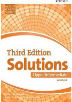 Solutions: Upper-Intermediate. Workbook. Leading the Way to Success