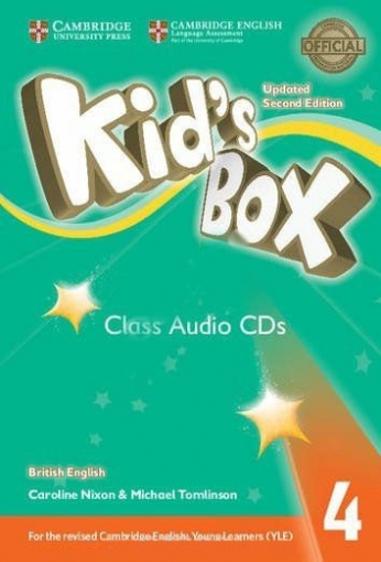 Nixon Caroline, Tomlinson Michael Kid's Box Updated 2nd Edition Audio CD 4