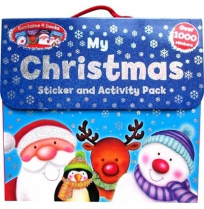 Christmas Fun (4 activity book pack)