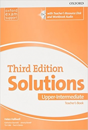 Tim Falla, Davies Paul Solutions: Upper-Intermediate: Teacher's Book and Teacher's Resourse CD-ROM Pack. CD-ROM
