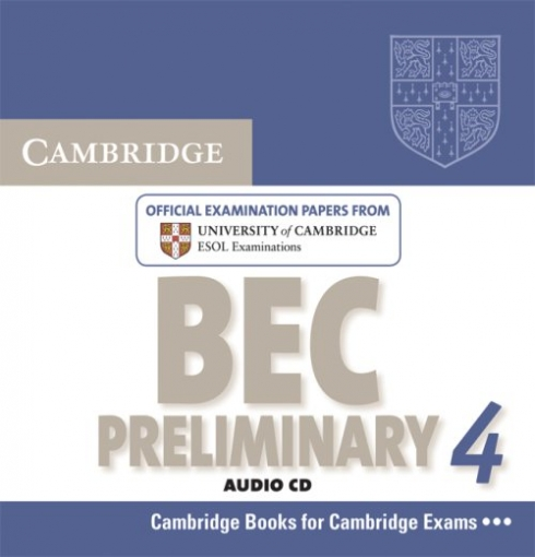 Audio CD. Cambridge BEC 4 Preliminary