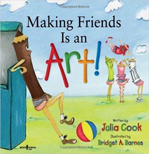 Making Friends Is an Art!: A Children's Book on Making Friends