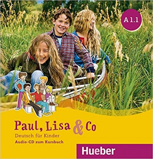 Georgiakaki Manuela, Bovermann Monika, Zschärlich Renate Paul, Lisa & Co. Deutsch für Kinder. A 1.1. Audio-CDs zum Kursbuch