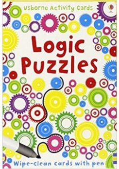 Logic Puzzles. Wipe-Clean cards with Pen