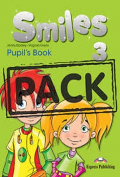 Virginia Evans, Dooley Jenny Smiles 3. Pupil's Book with ie-Book