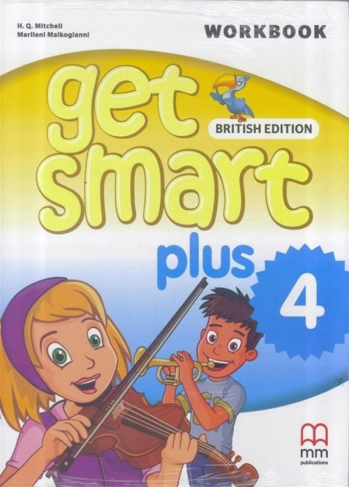 Mitchell H.Q., Malkogianni Marileni Get Smart Plus 4. Workbook
