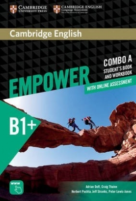 Peter Lewis-Jones, Puchta Herbert, Doff Adrian, Stranks Jeff, Thaine Craig Empower. Intermediate Student's Book and Workbook with Online Assessment. Combo A