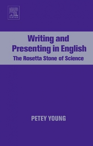 Petey Young Writing and Presenting in English,