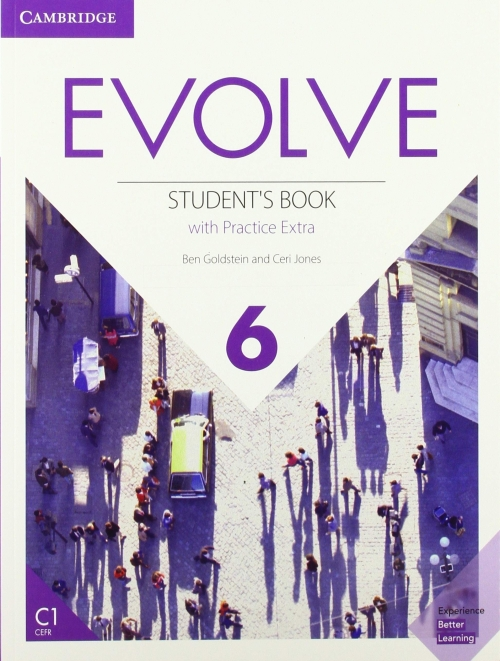 Jones Ceri, Goldstein Ben Evolve 6. Student's Book with Practice Extra