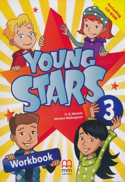 Marileni Malkogianni, H.Q.Mitchell Young Stars 3 Workbook (incl CD)