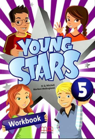 Marileni Malkogianni, H.Q.Mitchell Young Stars 5 Workbook (incl CD)