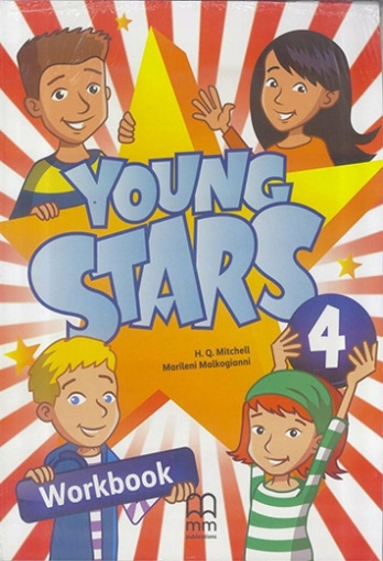 Marileni Malkogianni, H.Q.Mitchell Young Stars 4 Workbook (incl CD)