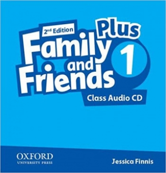 Finnis Jessica Audio CD. Family and Friends 1 Plus
