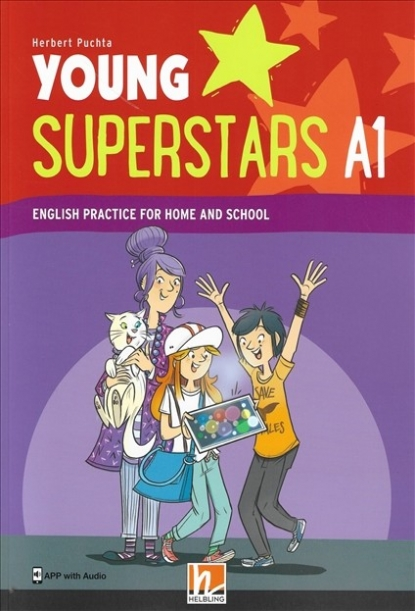 Puchta Herbert Young Superstars A1. English Practice for Home and School (plus APP with Audio)