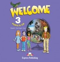 Virginia Evans, Elizabeth Gray, Terry Wilson, Evan Nathan Welcome 3 Pupil's Audio CD