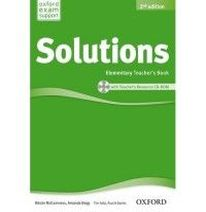 Tim Falla and Paul A Davies Solutions Second Edition Elementary Teacher's Book and CD-ROM Pack