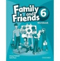 Cheryl Pelteret and Julie Penn Family and Friends 6 Workbook