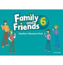 Jenny Quintana Family and Friends 6 Teacher's Resource Pack (including Photocopy Masters Book, and Testing and Evaluation Book)