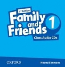 Tamzin Thompson, Naomi Simmons, Jenny Quintana Family and Friends Second Edition 1 Class Audio CD's (2)