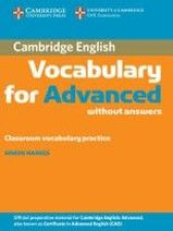 Simon Haines Cambridge Vocabulary for Advanced Book without answers