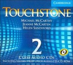 Michael J. McCarthy, Jeanne McCarten Touchstone Level 2 Class Audio CDs (4)