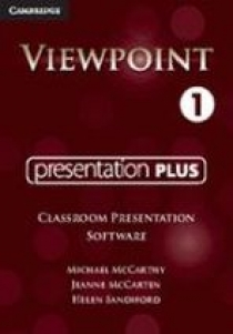 Michael McCarthy, Jeanne McCarten, Helen Sandiford Viewpoint Level 1 Presentation Plus Classroom Presentation Software