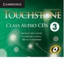 Michael McCarthy, Jeanne McCarten, Helen Sandiford Touchstone Second Edition 3 Class Audio CDs (4)
