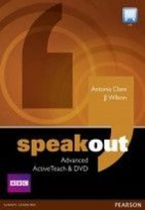 Antonia Clare and J.J. Wilson Speakout Advanced Active Teach & DVD