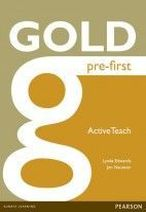 Lynda Edwards, Jon Naunton Gold Pre-First Active Teach CD-ROM