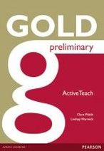 Clare Walsh, Lindsay Warwick New Gold Preliminary Active Teach CD-ROM