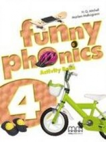 H.Q. Mitchell, Marileni Malkogianni Funny Phonics 4 Activity Book with Audio CD/ CD-ROM