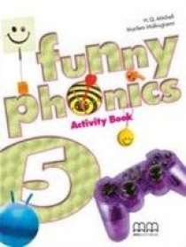 H.Q. Mitchell, Marileni Malkogianni Funny Phonics 5 Activity Book with Audio CD/ CD-ROM
