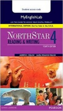 English A. Online курс - доступ к сайту - NorthStar Reading and Writing 4 MyEnglishLab. International Edition
