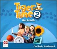 Carol Read, Mark Ormerod Tiger Time Level 2 Audio CD