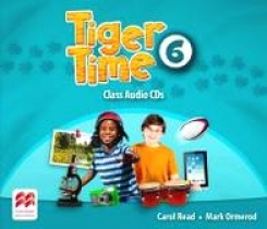 Carol Read, Mark Ormerod Tiger Time Level 6 Audio CD