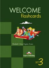 Elizabeth G., Virginia E. Welcome Abroad 3 Flashcards Set