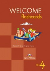 Elizabeth Gray,Virginia Evans Welcome Abroad 4 Flashcards Set