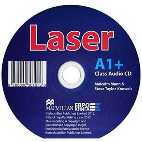 Malcolm M., Steve T. - Laser (new edition) A1+ Class Audio CD лицензия (3rd Edition)