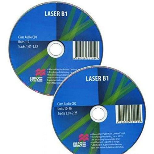 Laser B1 Class Audio CD (2) (3rd Edition)