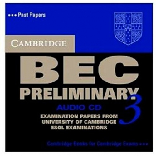 Cambridge BEC (business english course) Preliminary 3. Audio CD