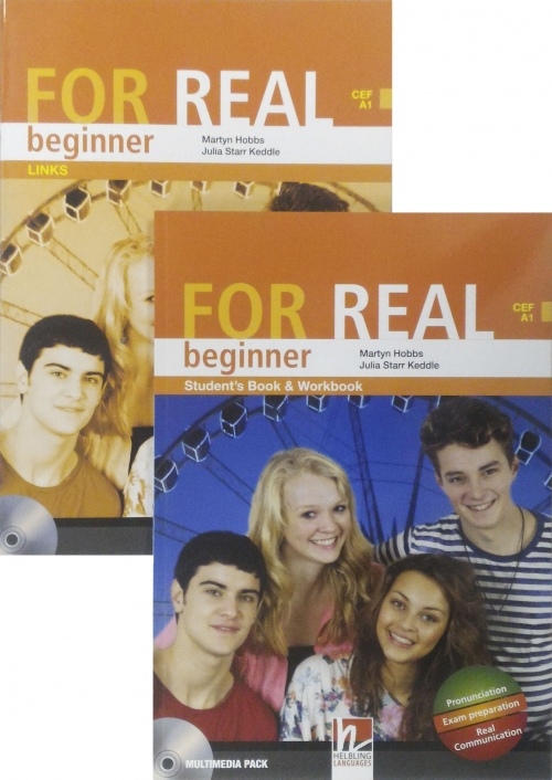 Hobbs M., Keddle J.S. For Real Beginner Student's Pack (Student's Book + Workbook) with СD-ROM