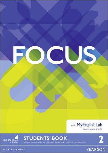 Jones, Kay Focus 2 Student's Book & MyEnglishLab Pack