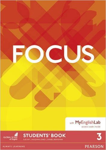Jones, Kay Focus 3 Student's Book & MyEnglishLab Pack