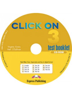 Click On 3. Test booklet CD-ROM. CD с тестовыми заданиями и упражнениями
