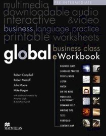 Online курс - доступ к сайту - Global Business Class. Eworkbook. Pre-intermediate