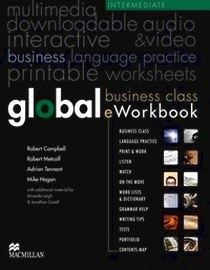 Online курс - доступ к сайту - Global. Business Class. Eworkbook. Intermediate