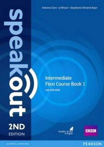 Clare, J., Antonia; Wilson Speakout. 2Ed Intermediate. Flexi Course Book 1 with DVD-ROM