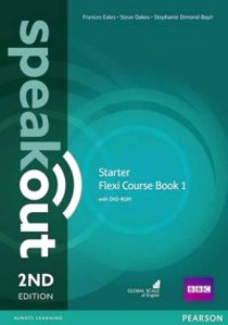 Clare, J., Antonia; Wilson Speakout. 2Ed Starter. Flexi Course Book 1 with DVD-ROM