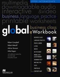 Online курс - доступ к сайту - Global. Business Class. EWorkbook. Upper Intermediate